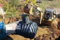 Монтира се система за рекуперация на дъждовни води. Обект: Горна Баня