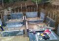 Изграждане на фундамент. Къща-1. Обект: Лозен