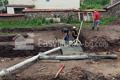 Начало на фундамента. Наливане на подложен бетон. Обект: Лозен ІІ