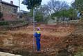 Започват изкопните работи за фундамента. Обект: Своге