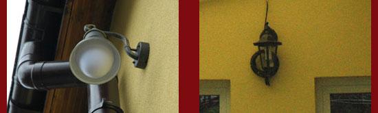 Няма ограничение към вида на инсталациите, външно или градинско осветление