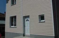 Външна врата - РVС с декоративен термопанел